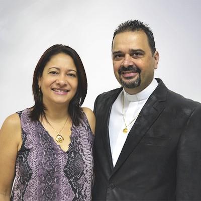Prs Oswaldo e Fátima Arêas